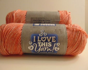 Coraline - I Love This Yarn worsted weight variegated 100% acrylic - 3009