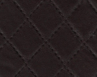 PVC Based Soft Leatherette for Clothing - Brown Colour