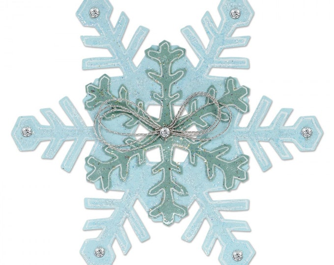 New! Sizzix Bigz L Die - Snowflakes by Sharyn Sowell 661543