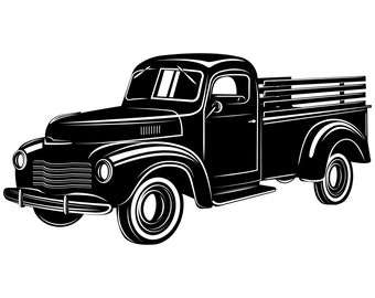 Truck SVG Pickup Vintage Svg Pick Up