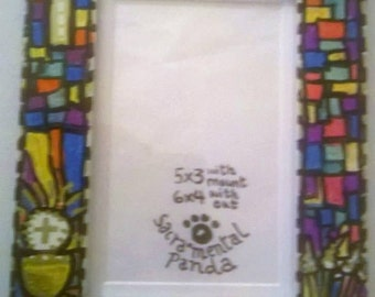 First Holy Communion, photo frame. Boys or girls