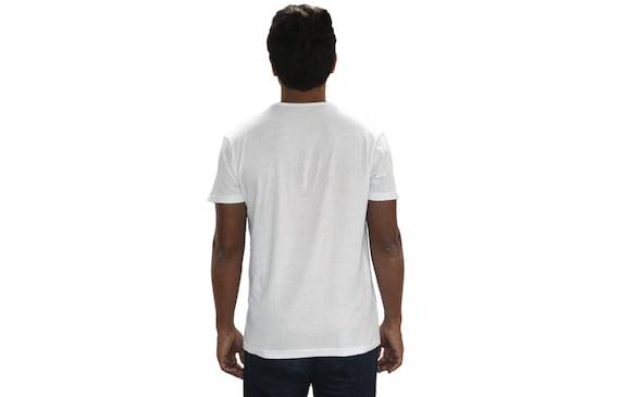 Mens Tshirt Top Mens weiß Wolf-Kleidung Mens weißes