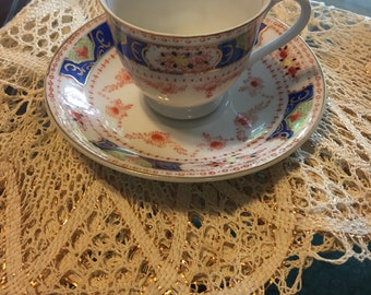 Occupied Japan Demitasse Teacup set