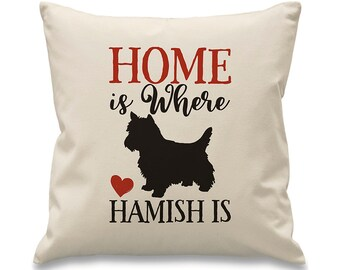 West Highland Terrier Cushion. Personalised Westie Cushion. Personalised Westie Gift. Westie Gift. Westie Cushion. West Highland Terrier