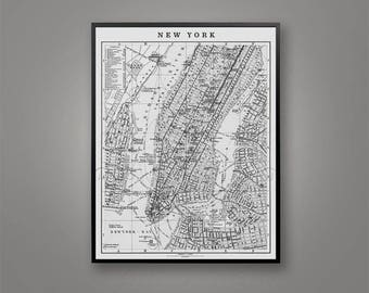 new york map print circa 1900s nyc map vintage map of new york giclee print map of manhattan nyc prints vintage nyc maps tribeca map