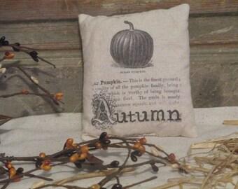 Autumn Pillow Tuck