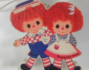 Vintage 1973 Raggedy Ann And Andy AM RadioBy The Bobbs Merrill Co. Inc./Hong Kong/Collectible /(O)