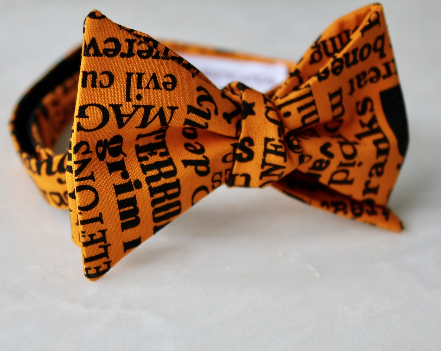 If you dont do costumes, try a Halloween themed bow tie.
