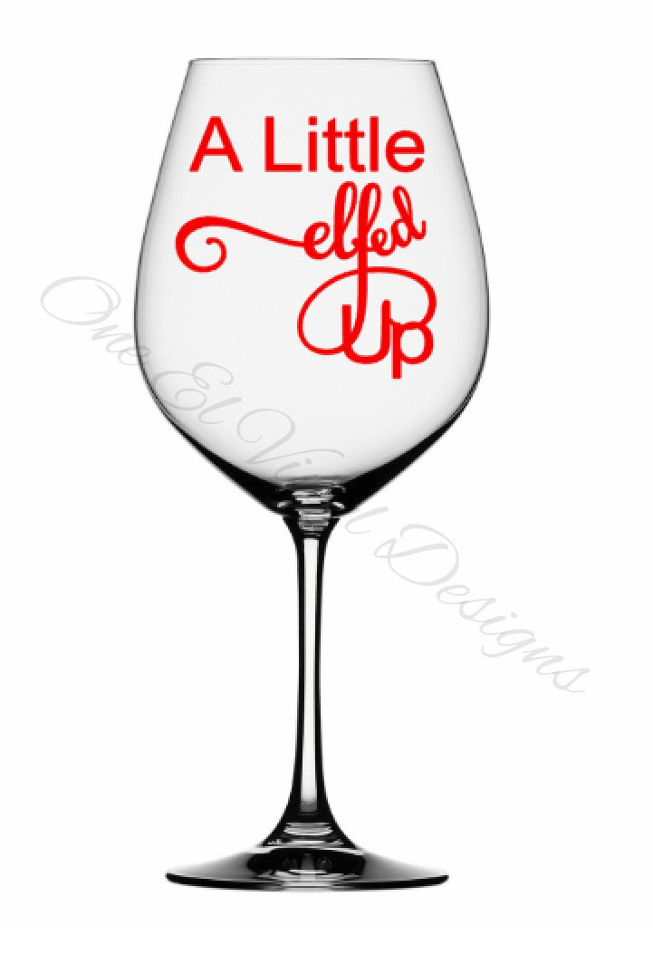 A sample of a fun DIY wine glass