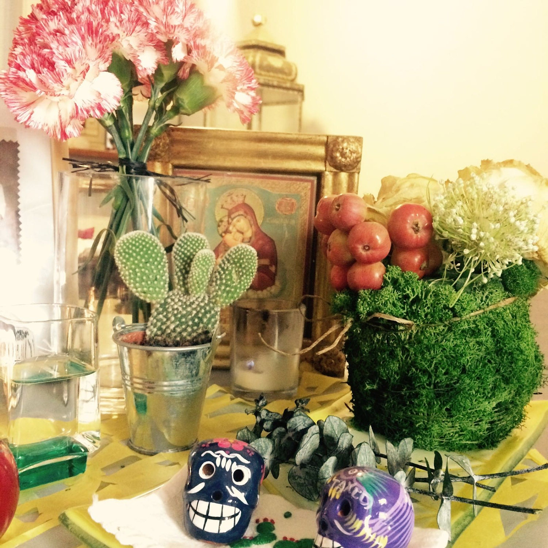El altar de nuestra casa