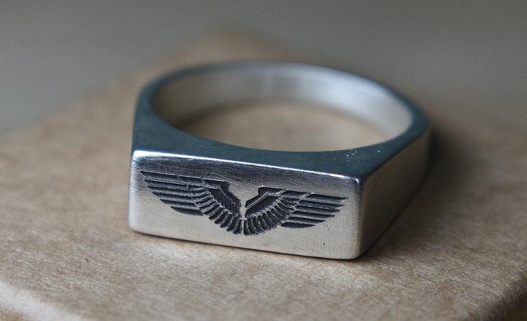 outside engraving ring
