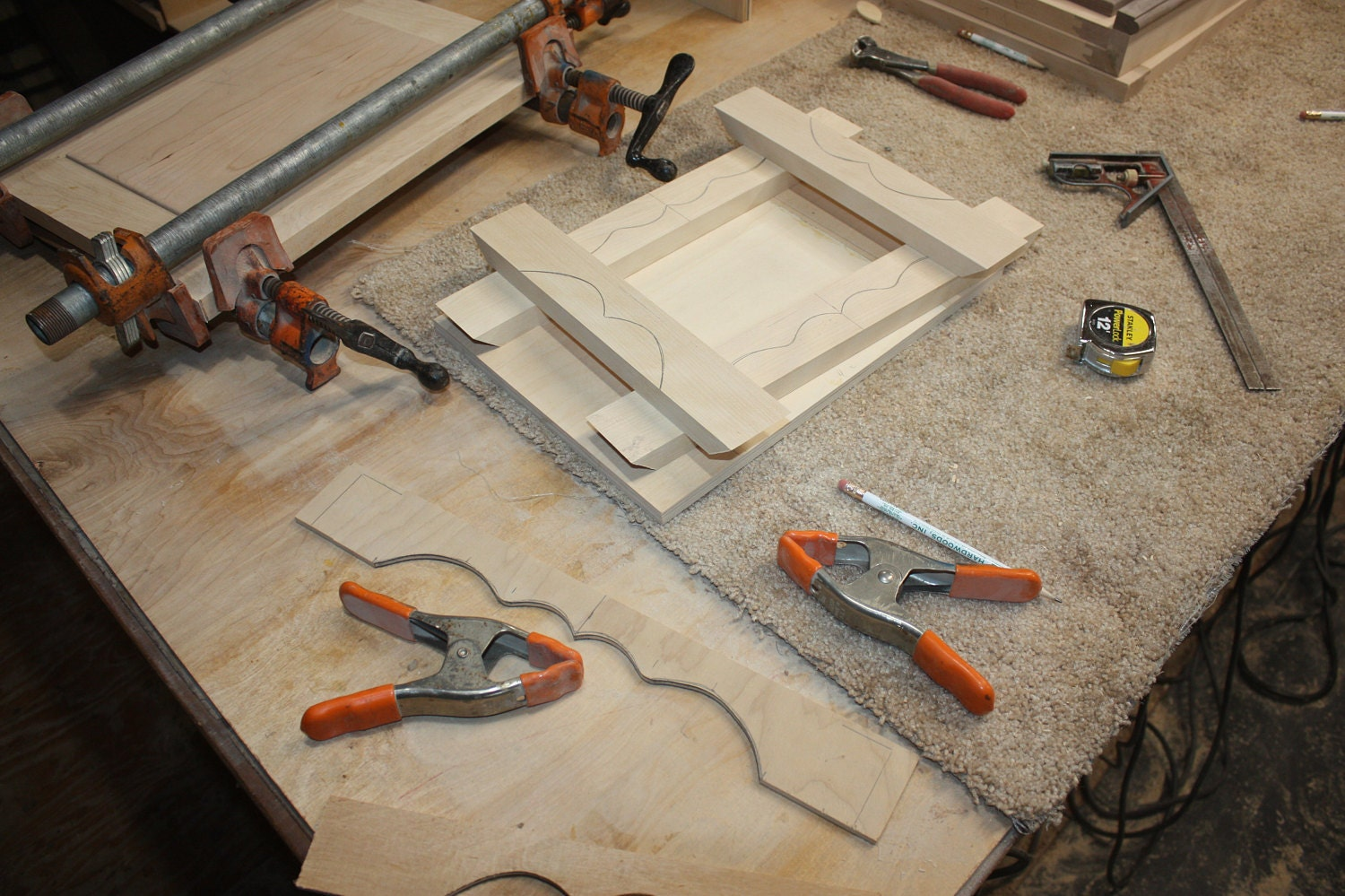Making a base for a Large Jewelry Box