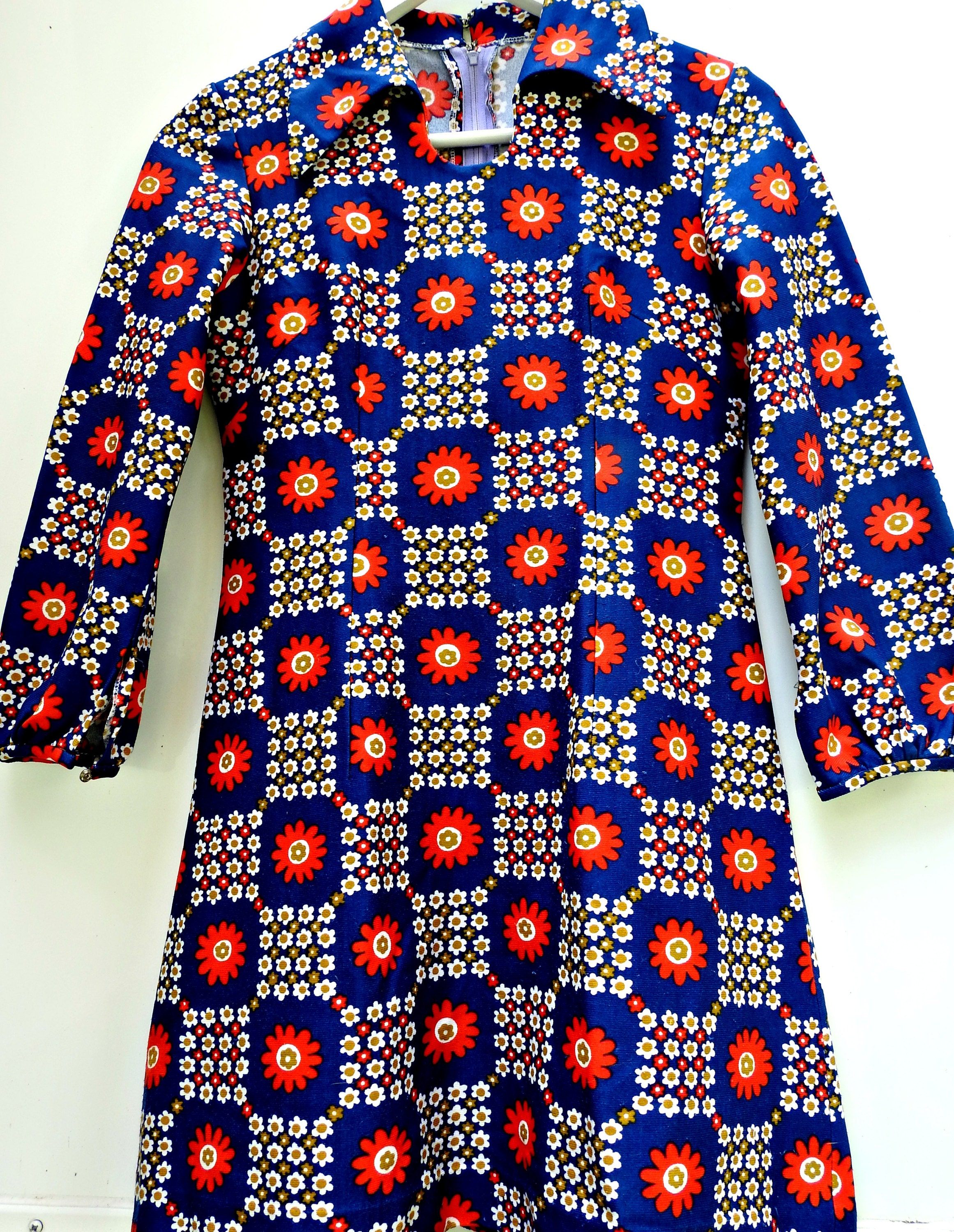 robe vintage, boutique vintage, vintage canada, etsy canada, canadian sellers etsy, robe mode 1970s, habit vintage, robe mode 70s