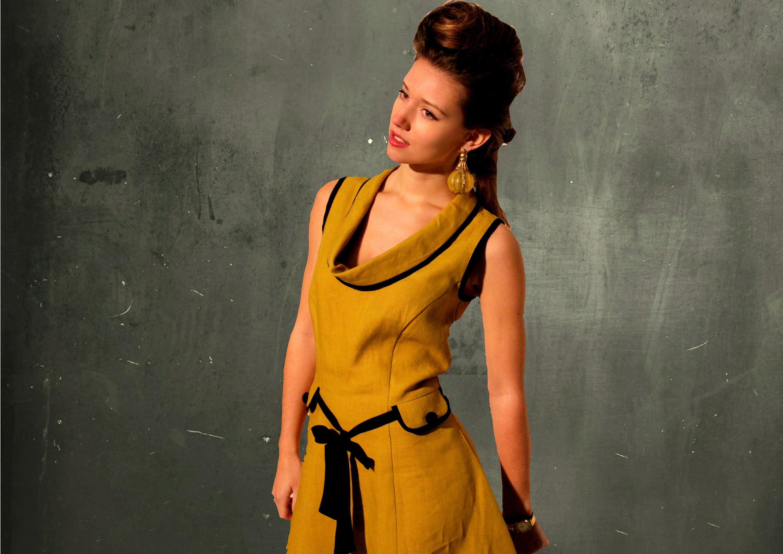 linen A-line dress ; https://www.moyzoorganics.com/listing/497091054/linen-a-line-dress-organic-linen-linnen