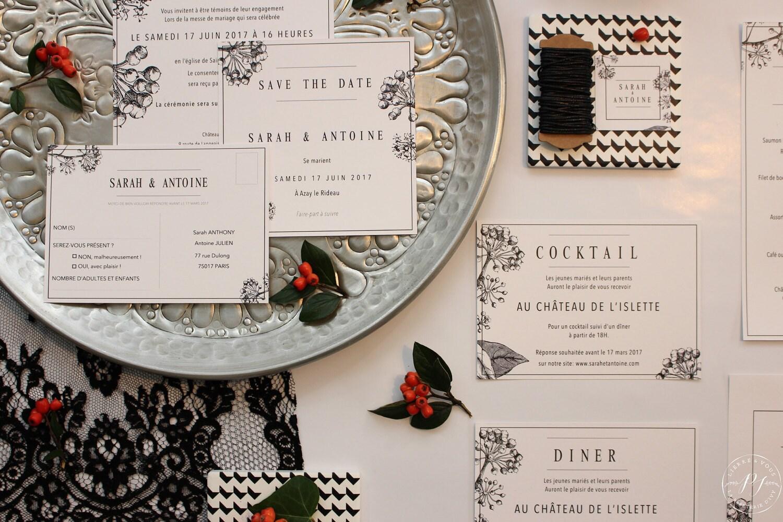 La Papeterie dIvy - Collection Lierre en fleur