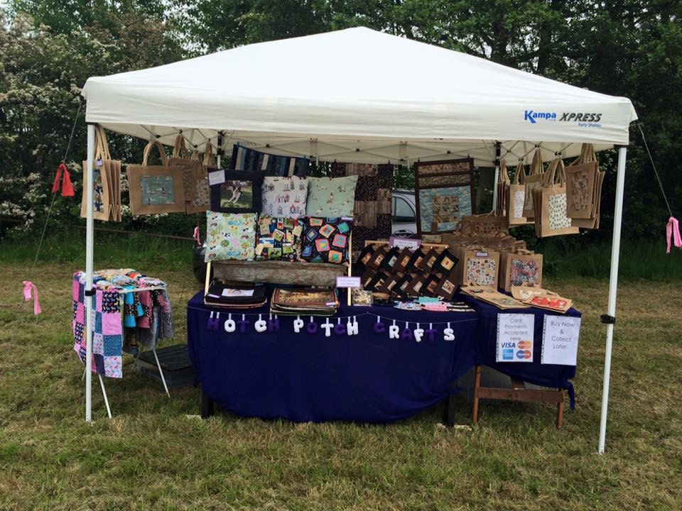 Our stall at Ruff Luck Rescue Dog Show in July this year, we had a woof-tastic time!