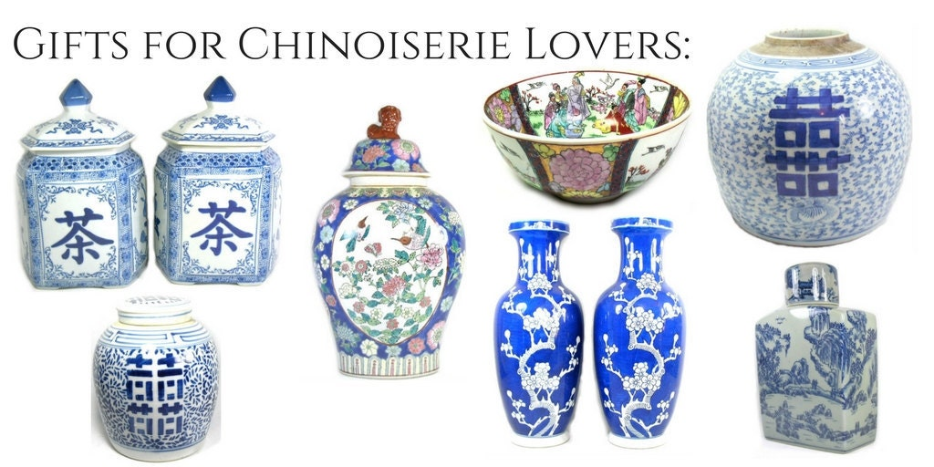 Gifts for chinoiserie lovers from Suki and Polly