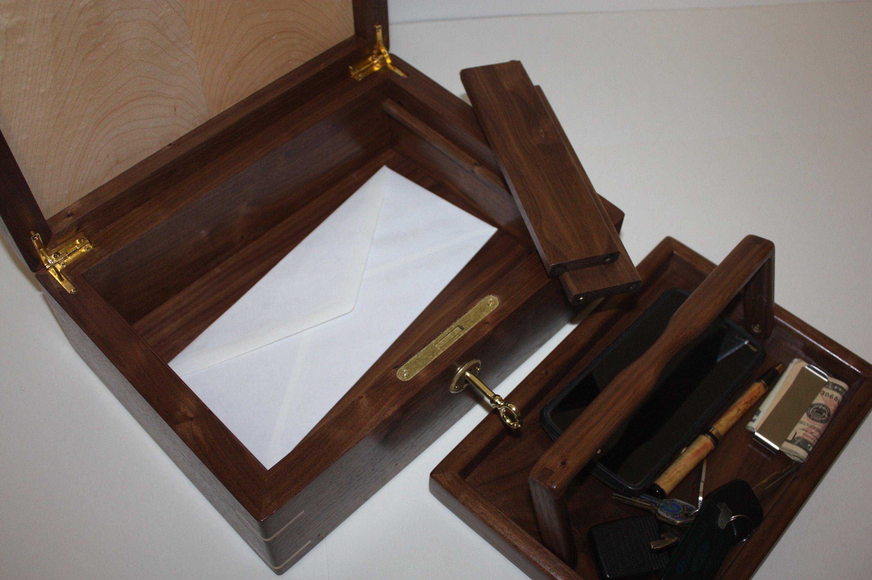 Handmade Mans Valet Box For Sale