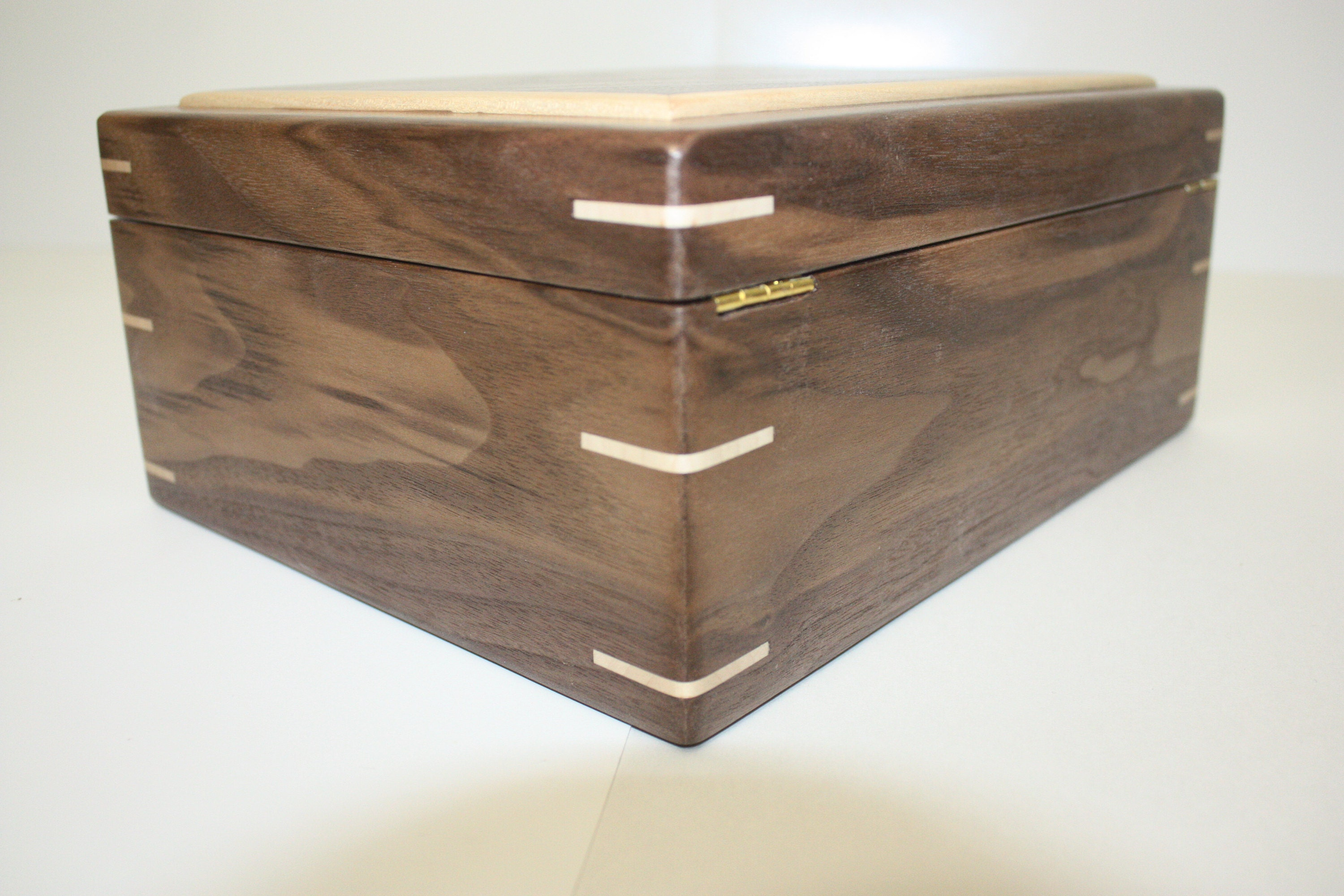 Handmade Box with Quadrant hinges