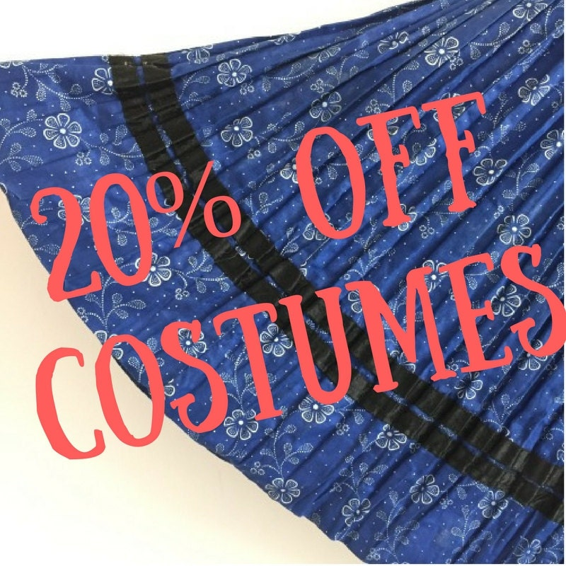 20% off traditional costumes