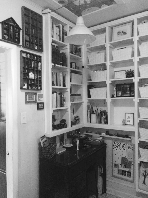Tiny studio corner