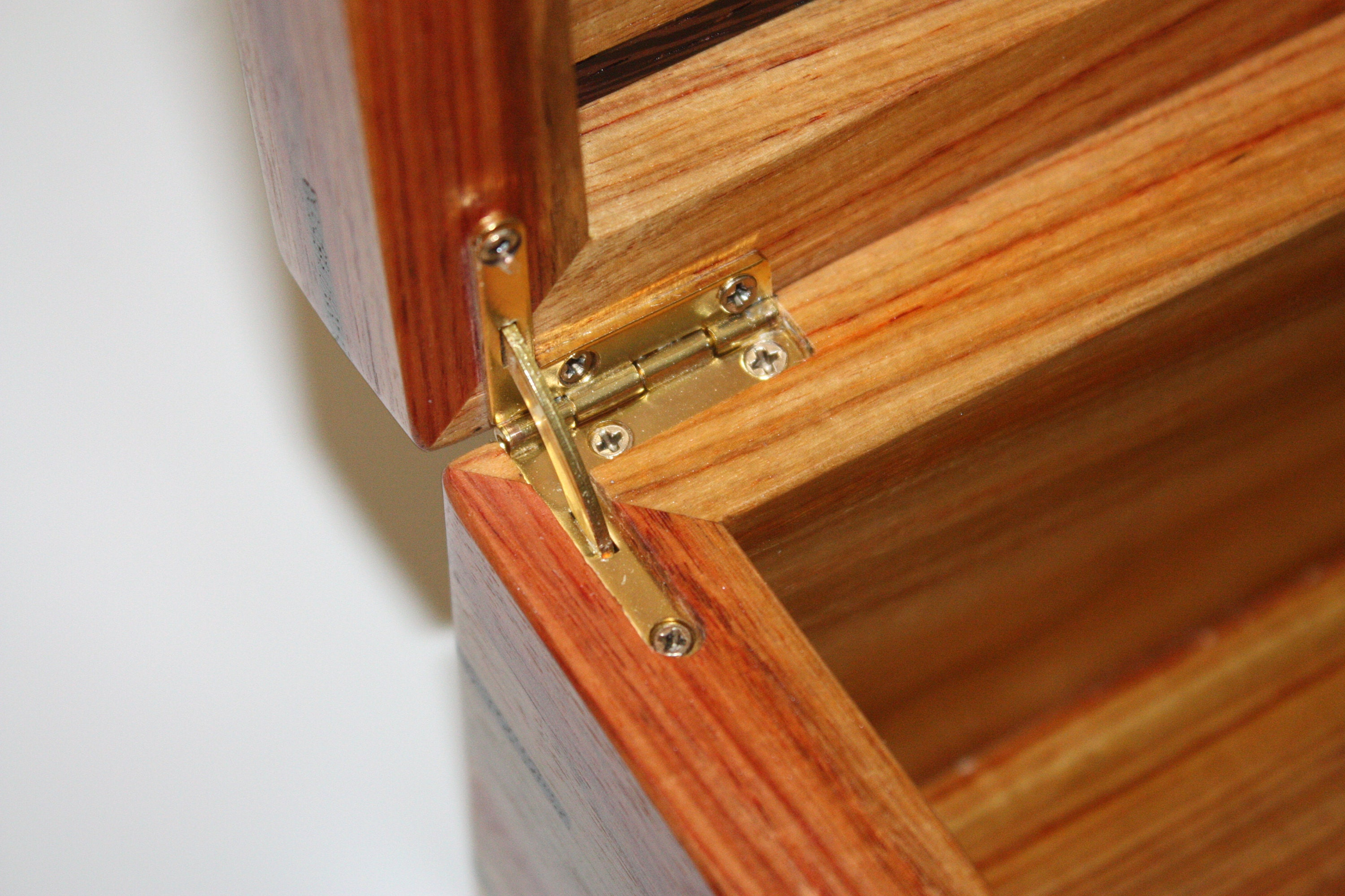 Quadrant Hinges on Locking Box For Sale