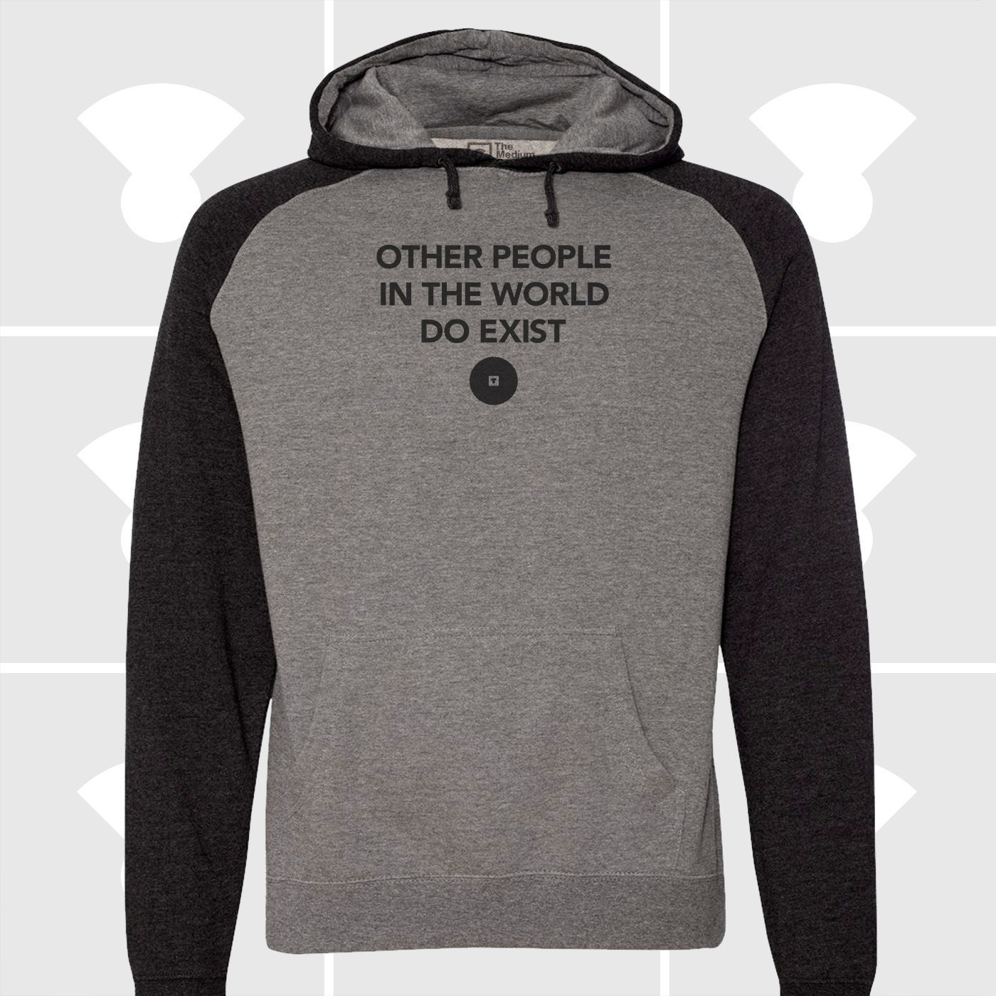 OTHER PEOPLE RAGLAN HOODIE