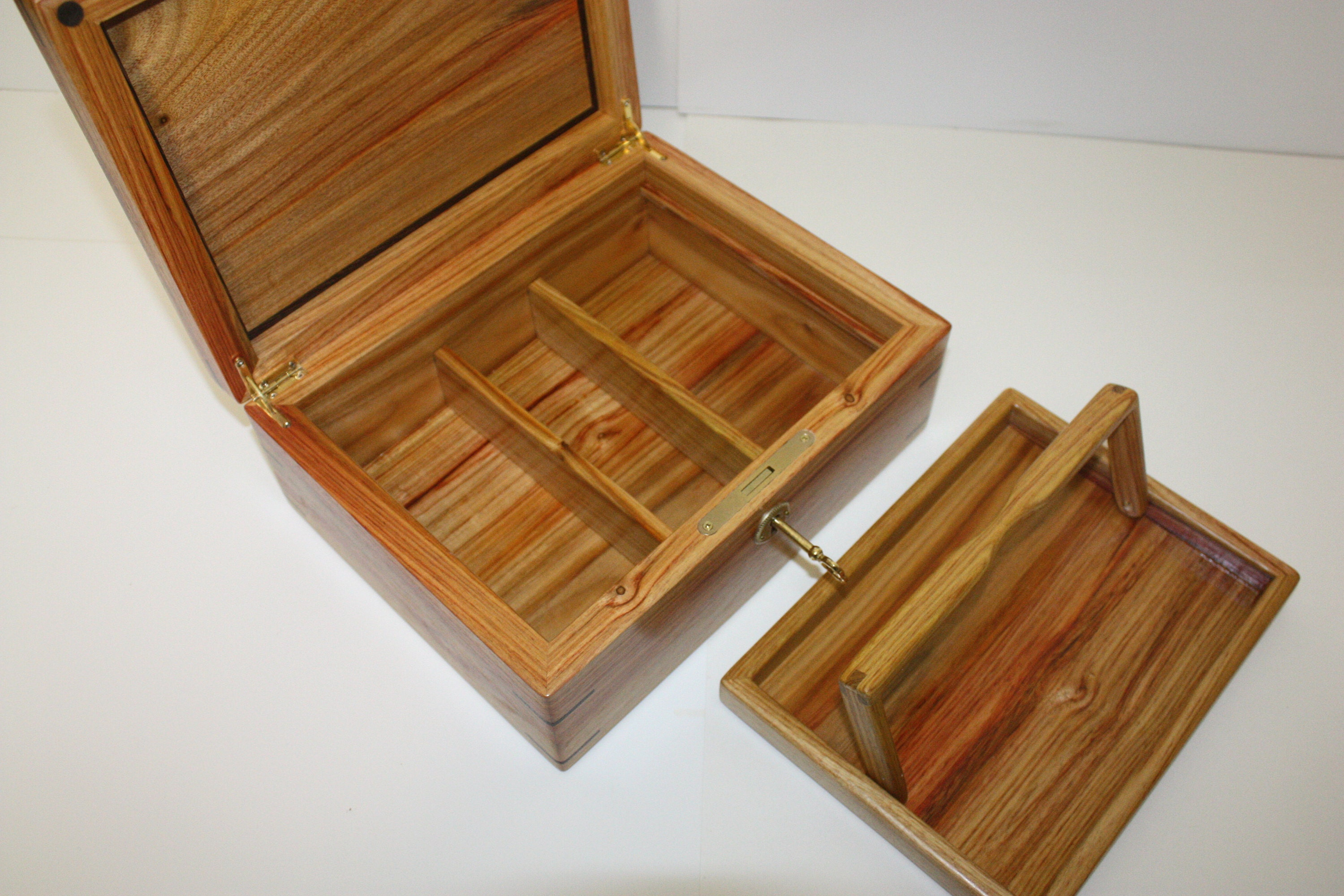 Handmade Box with Lock For Sale