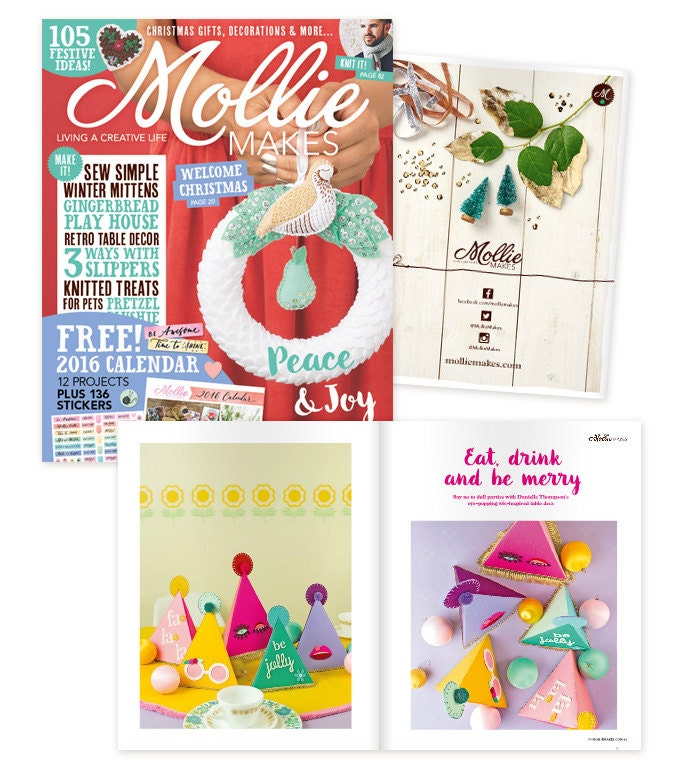 Mollie Makes Magazine Issue #59