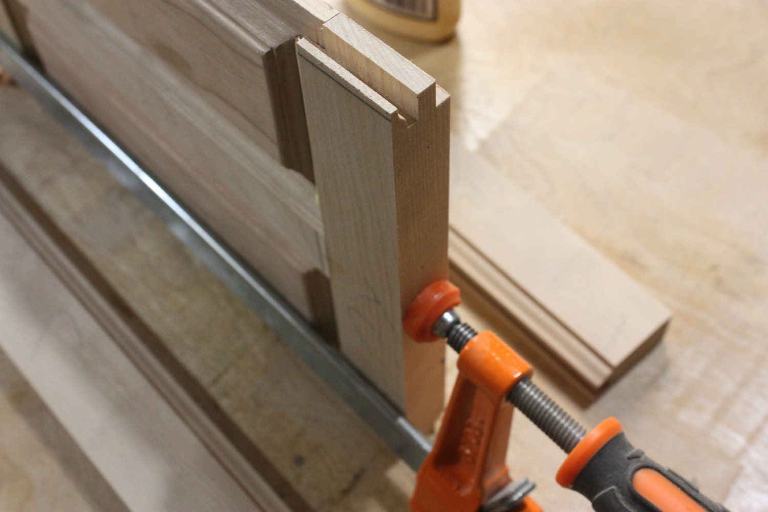 Cope and Shape for Floating Panels