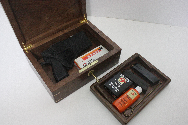 Locking Gun Box