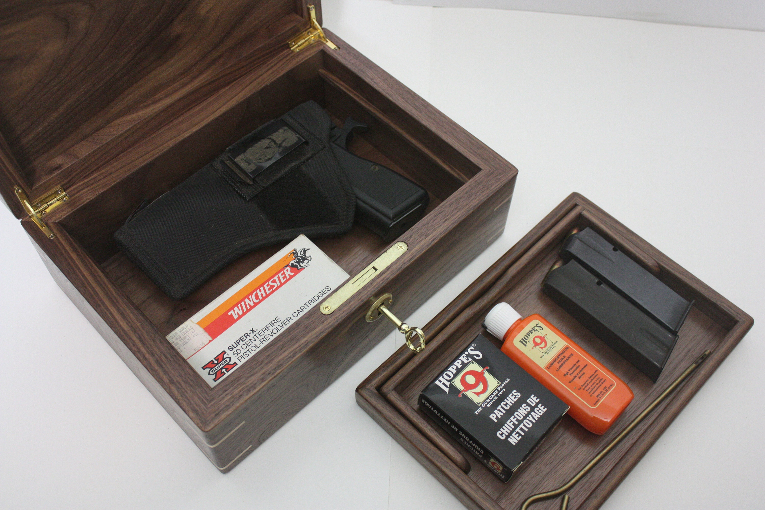 Locking Pistol Box