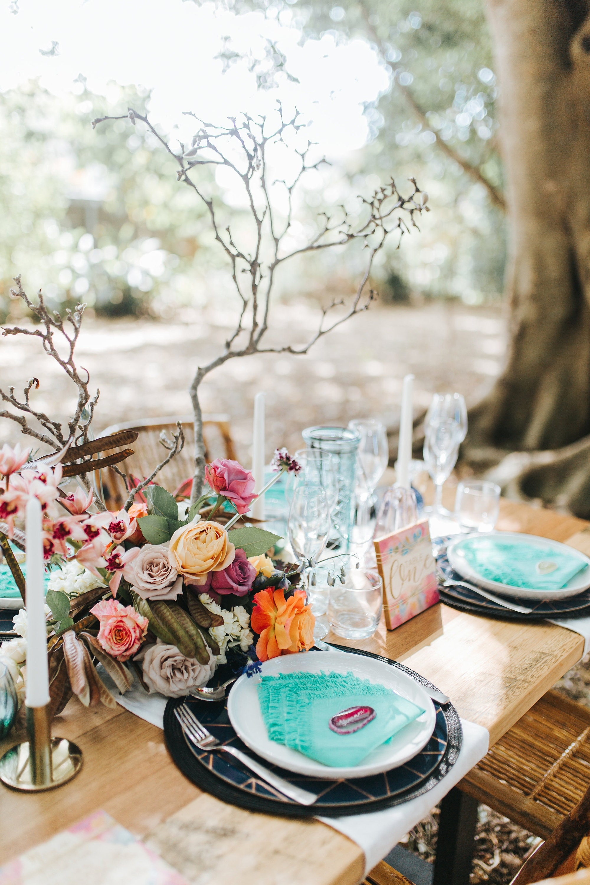 Table Styling Bohemian