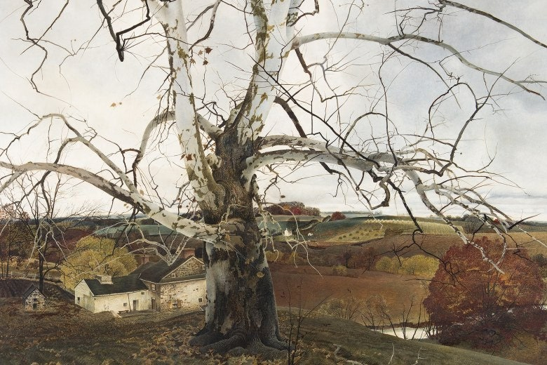 Pennsylvania Landscape by Andrew Wyeth