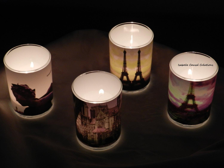 Paris Photophores Votive candles