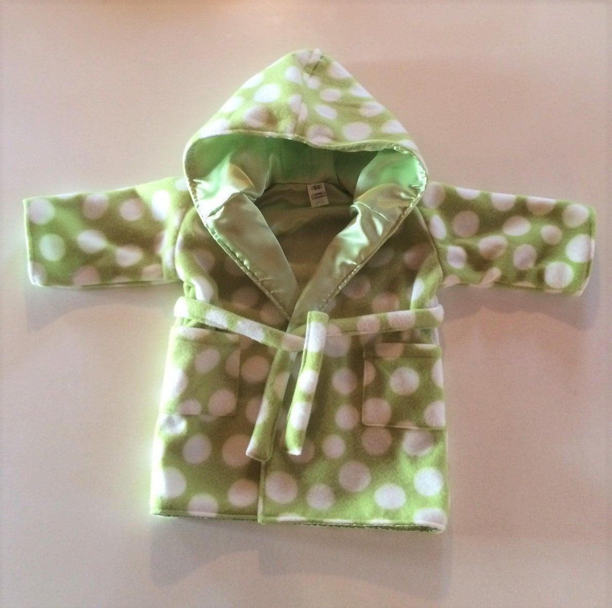 GiftsandHomeDecorUS Green Baby Bathrobe