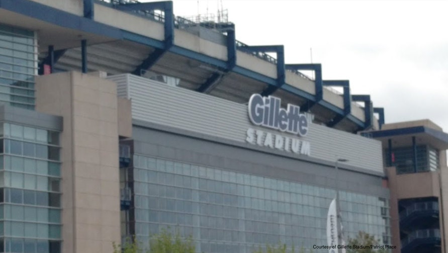 Gillette Stadium, football