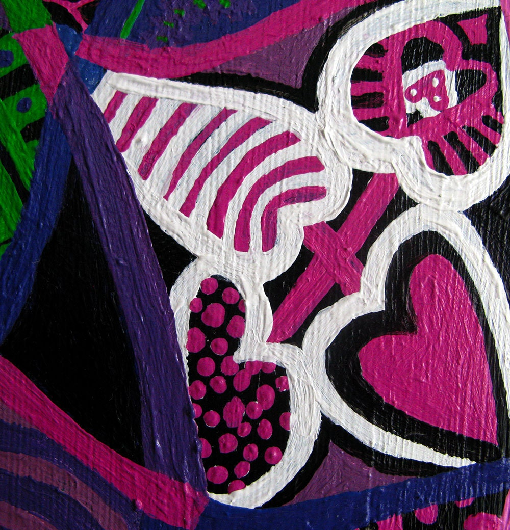 Large Psychedelic Nude detail 1
