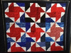 Another Quilt for American Hero Quilts
