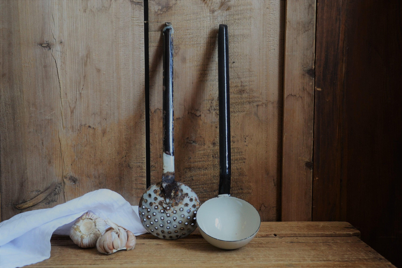 enamel utensils