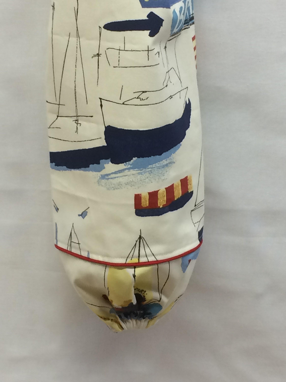 GiftsandHomeDecorUS Sailboat Plastic Bag Holder
