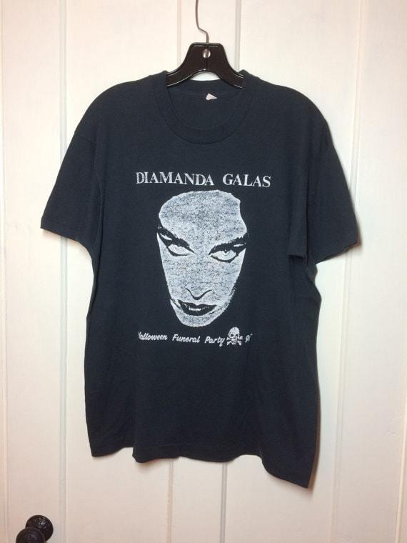 1991 Diamanda Galas Halloween Funeral Party t-shirt