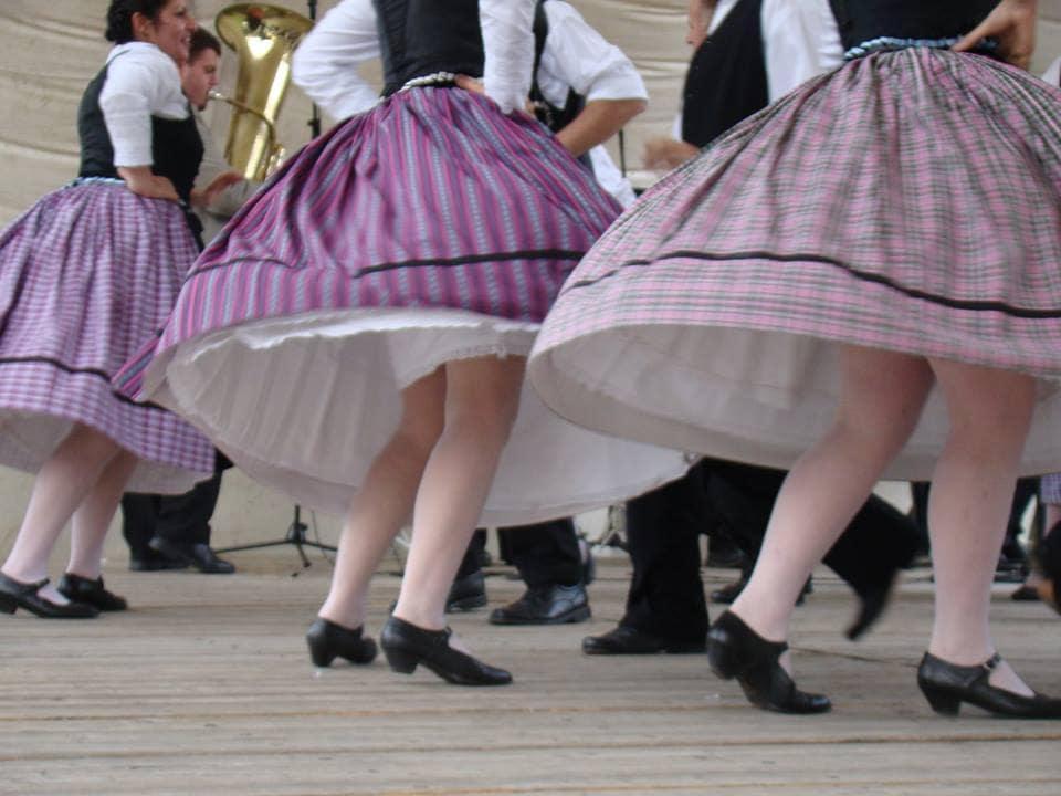 Dancing Vintage Circle Skirts