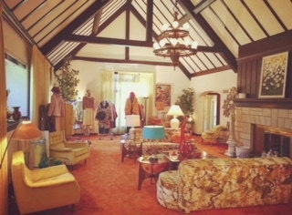1960s Time Capsule Living Room