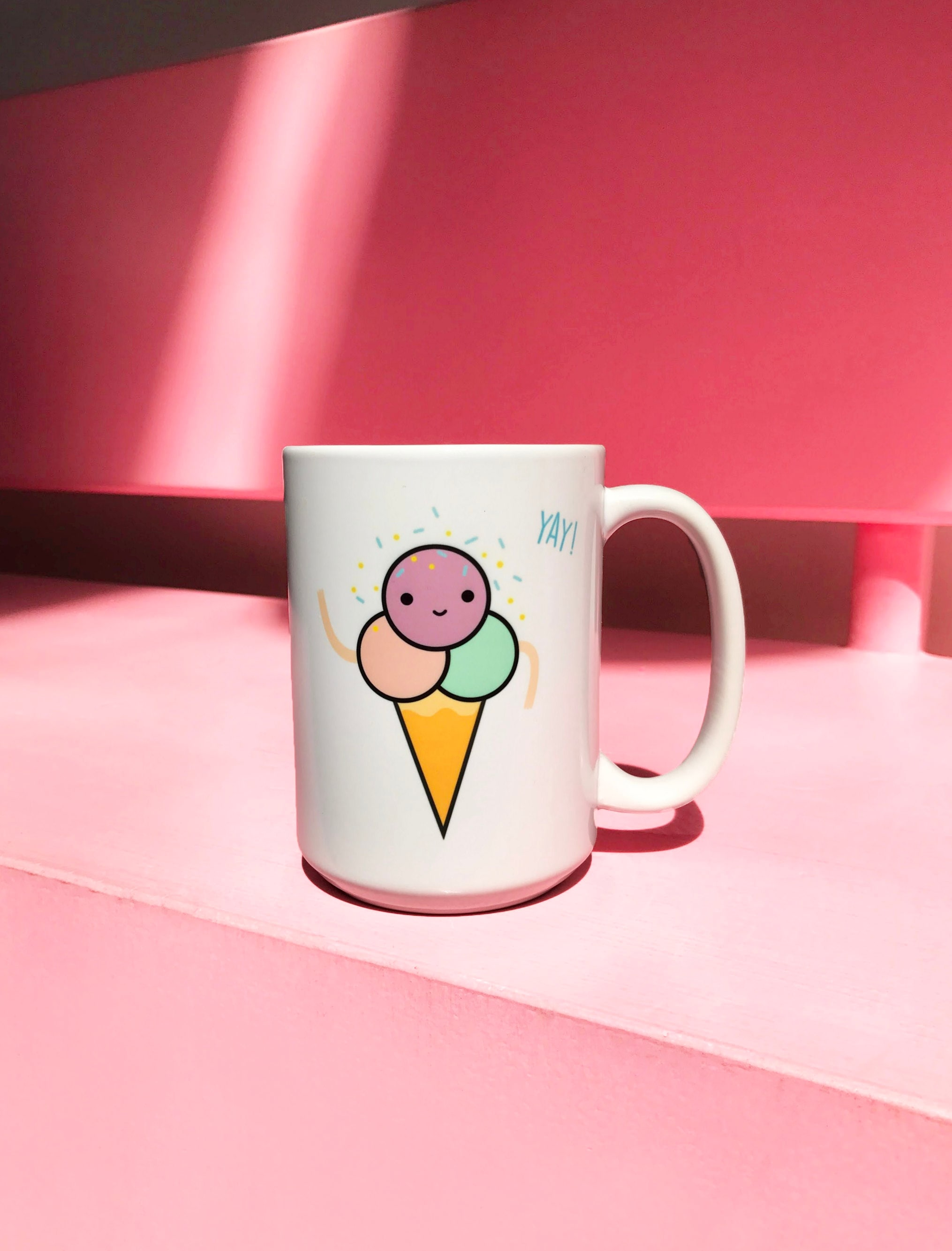 Our now favorite mug on a tour full of sprinkles and ice cream vibes