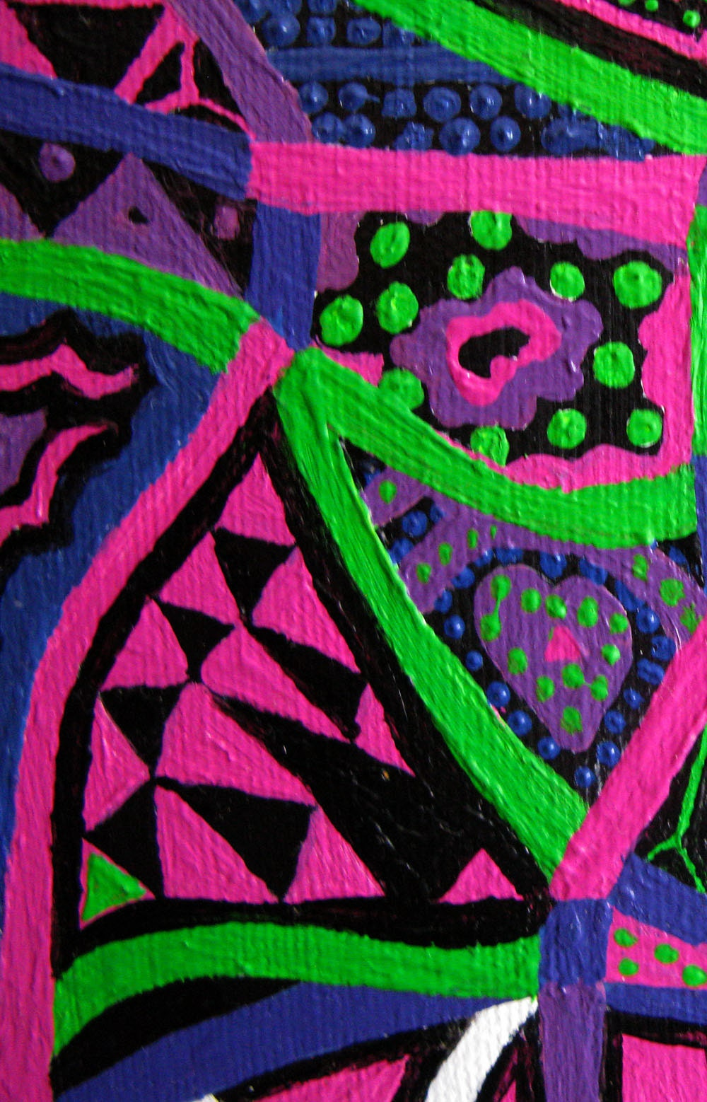 Large Psychedelic Nude detail 2