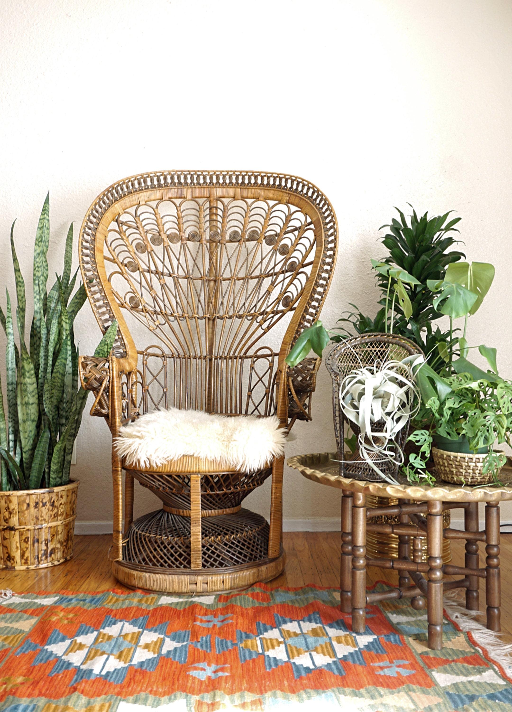 Bohemian Peacock Chair