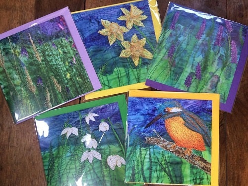 Heres a few of my nature inspired cards.