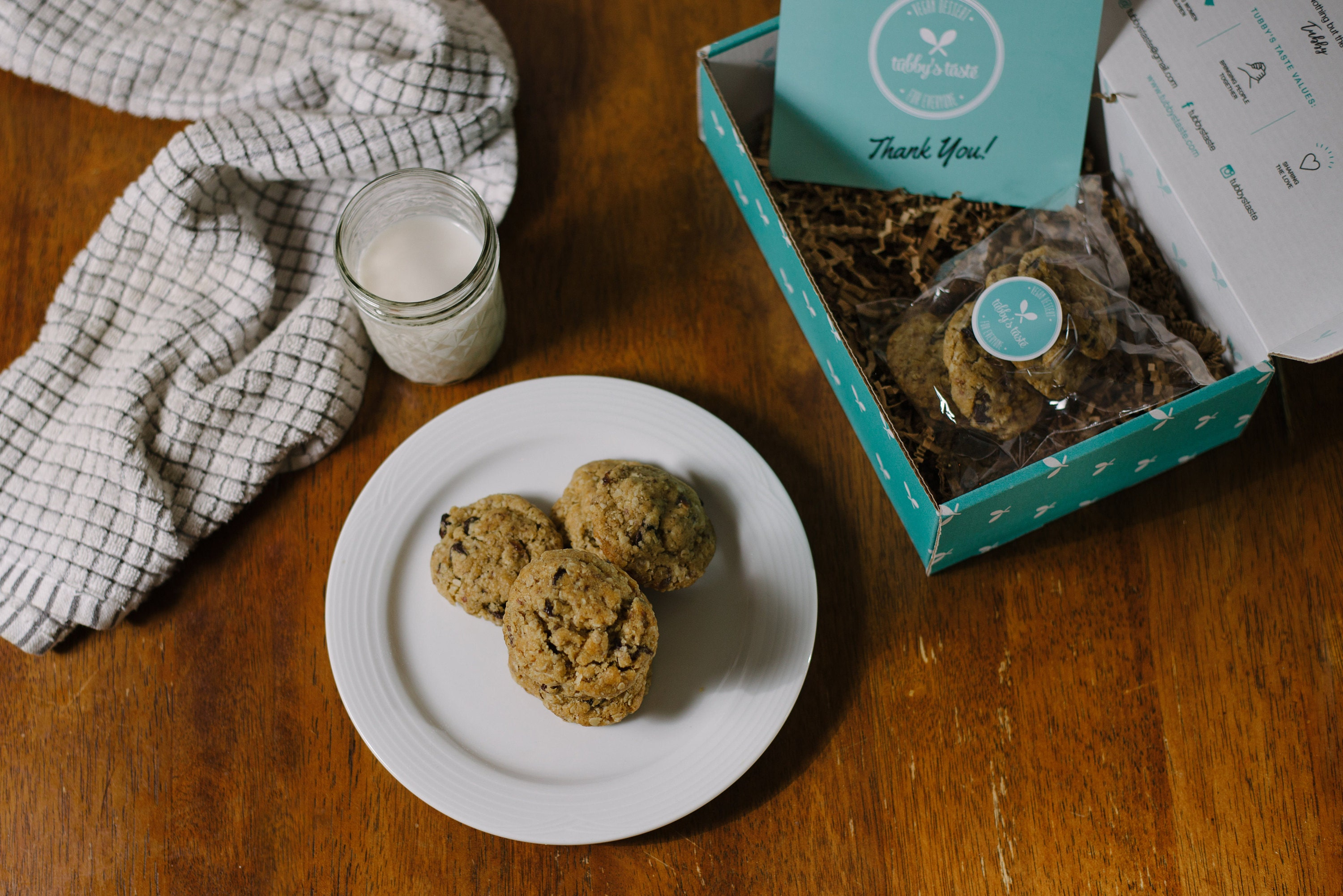 Tubbys Taste | Vegan Cookies | Small Business