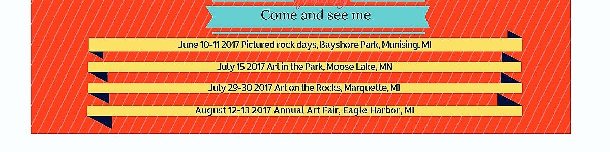 Art Show Dates.